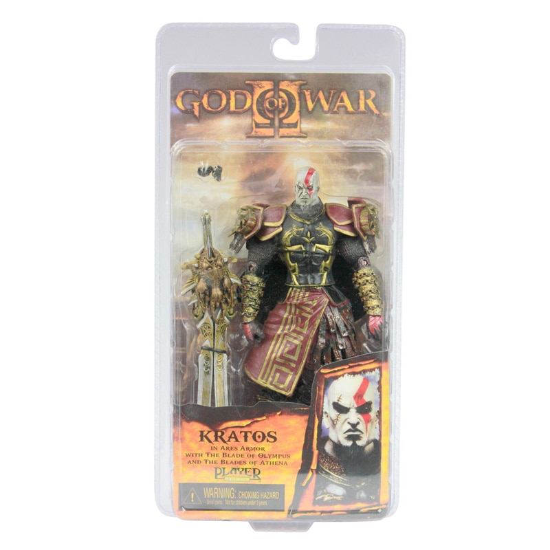 NECA God of War 2 II Kratos in Ares Armor W Blades 7