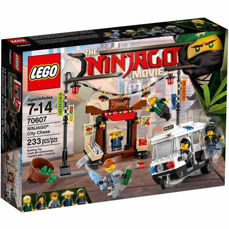 LEGO Ninjago Movie 70607 - NINJAGO City Chase   Shopee ...