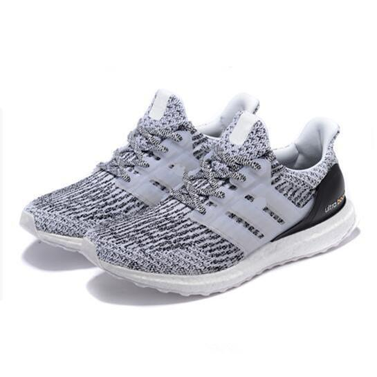 reputable site f3c8f a9863 Limitied Sale Ultra Boost 3.0 4.0 Triple Black White Men Women Running Shoes