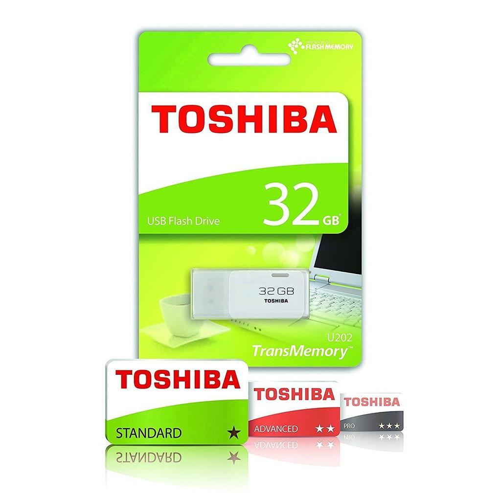 Toshiba TransMemory U202 32GB USB 2.0 Flash Drive THN U202W0320