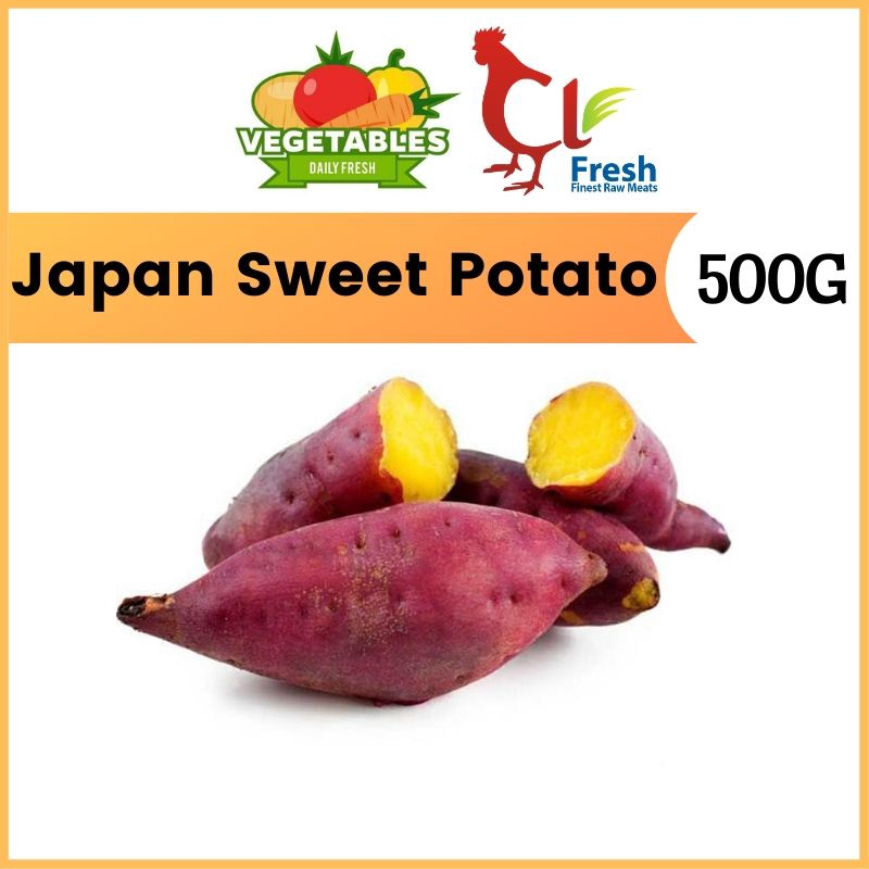 Jepun Sweet Potato / Ubi Keledek (500g)