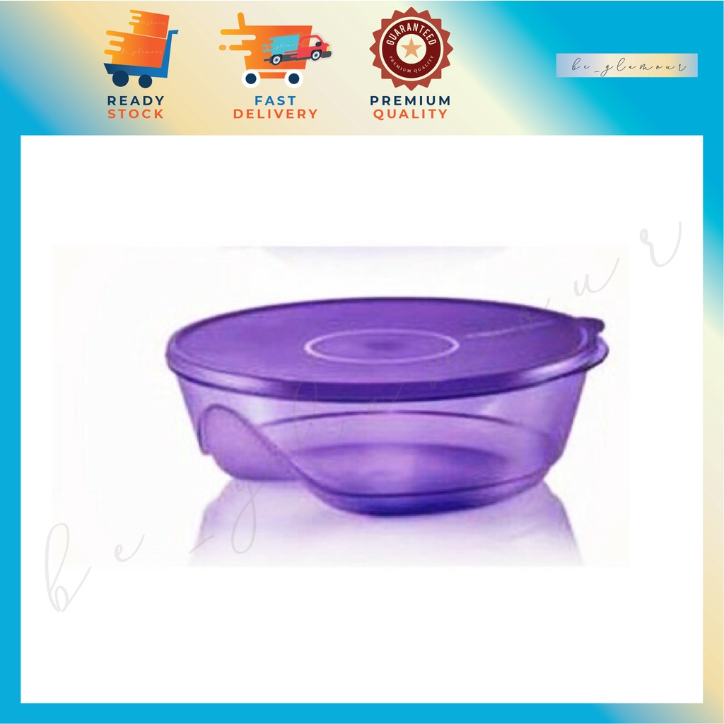 👉Tupperware 3S S Size (1) 1L / Stackable Bowl / Food Storage with Lids Cover 💥⚡️READY STOCK⚡️