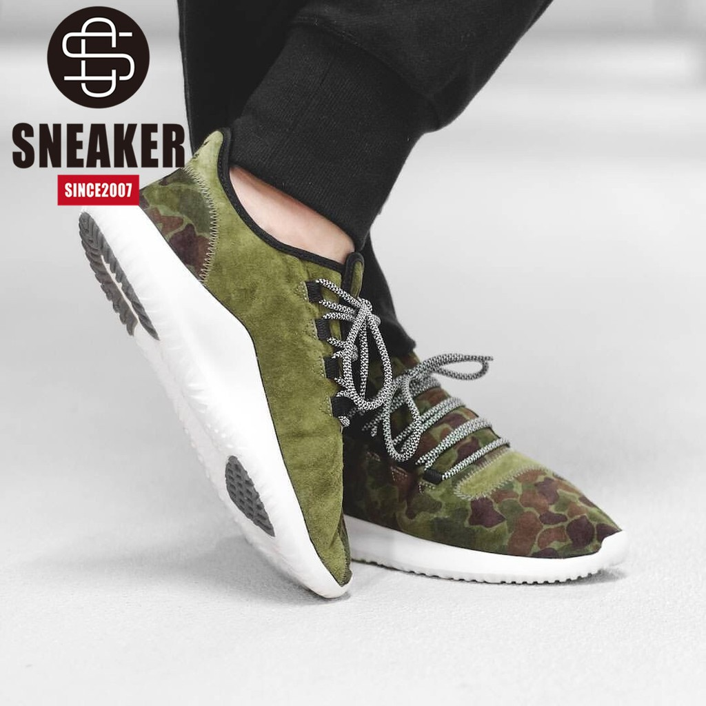 good quality more photos fashion style Authentic Adidas Tubular Shadow BB8818 camouflage running shoes