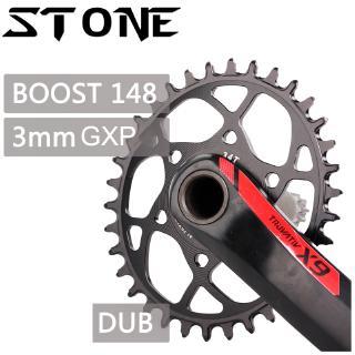 DECKAS 104bcd//96-Sbcd MTB Bike Chainring Round Oval Single Chainwheel 32-38T