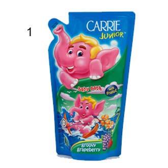CARRIE JUNIOR Baby Bath 500g- Groovy / Cheeky Cherry / Double Milk / Joyful Raspberry