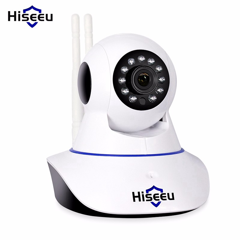 Hiseeu H.264 Wireless 1080P Camera IP Home Security CCTV Camera Indoor Night Vision Baby Cam