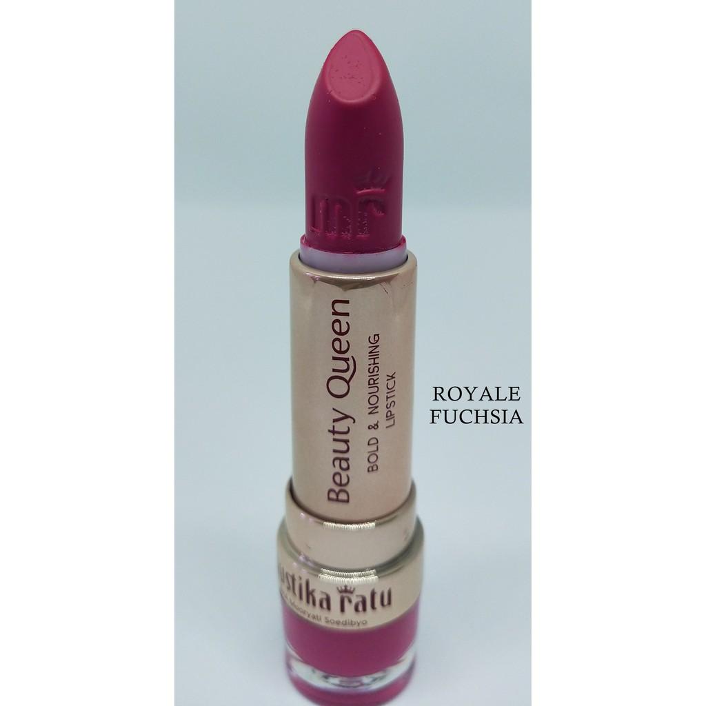 Mustika Ratu Beauty Queen Bold & Nourishing Lipstick ROYALE FUCHSIA [Mustika Ratu]