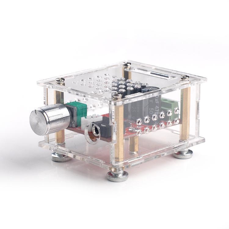 HIFI vacuum tube power amplifier board 6J1 + LM1875 power