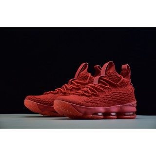 51644ae3e5af32 brand new nike LeBron 15 lbj OHIO red mesh knit mens basketball shoe size 40 -46