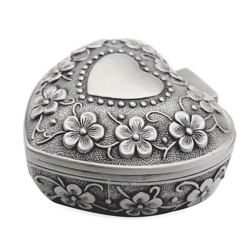 SMALL VINTAGE EASTER EGG TIN BOX New Metal Accessory Trinket Kids Gift