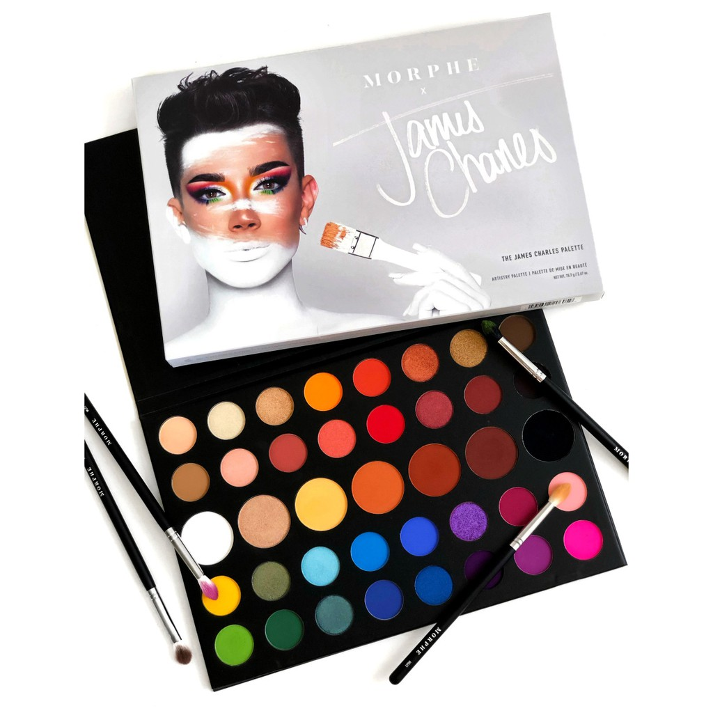 MORPHE The James Charles Palette 38 Colors