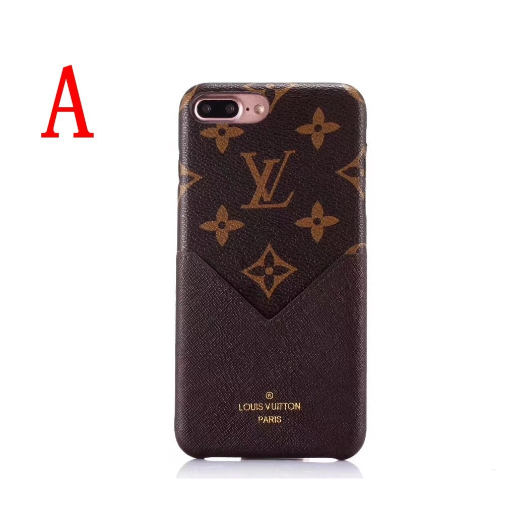 san francisco a66d9 6d188 Iphone 6/6s/7/8/X Lv case with card Slot