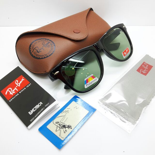 fa41c2a96d6 Kucci100% Original Ray-Ban Ferrari Green Polarized