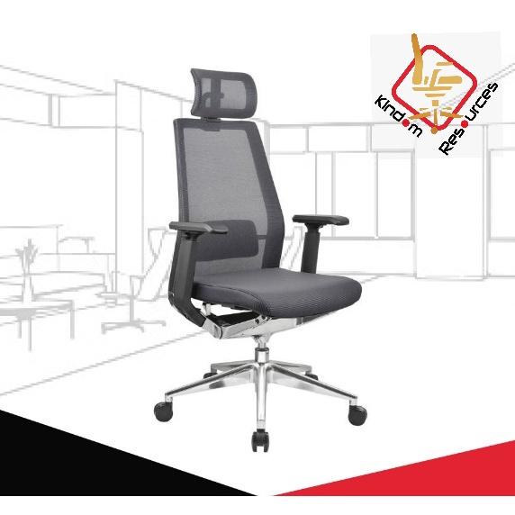Office Executive Chair (Model 1801) Ready Stock SHIP FROM MALAYSIA(Office Chair/Kerusi Pejabat)