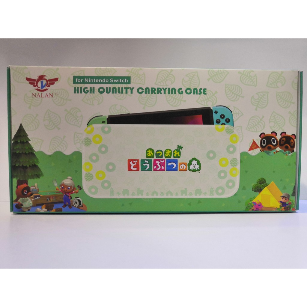 NINTENDO SWITCH NALAN HIGH QUALITY CARRYING CASE - ANIMAL CROSSING EDITION