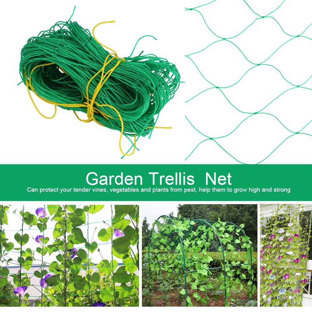 1.8x1.8M Plant Garden Trellis Net Plants Climbing Frame Anti Bird Protect Plant