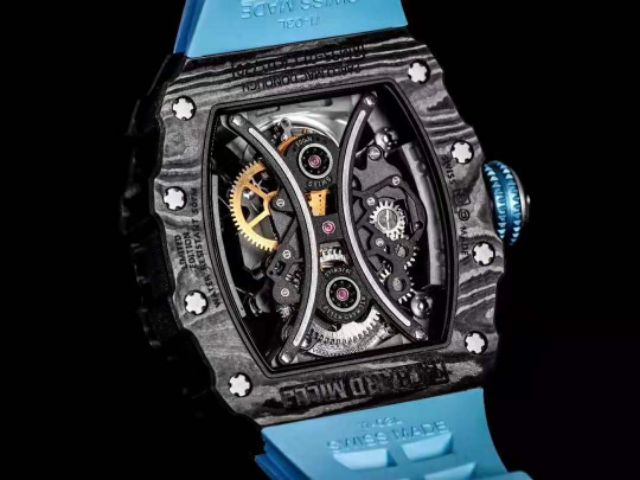 JB Factory Premium quality RM Tourbillon Pablo Mac Donough Black Dial RM53-01