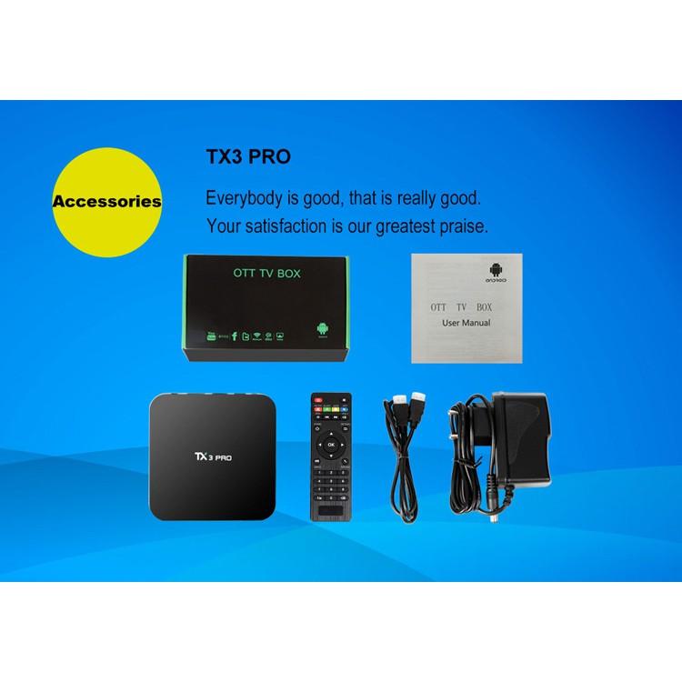 iLEPO TX3 Pro Amlogic S905W Android 7 1 TV Box 1GB 8GB Quad