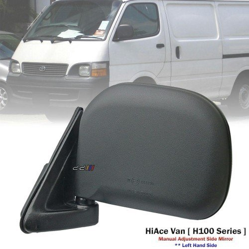 New Toyota HiAce H200 KDH200 05 1 Set Left /& Right Hand Side Manual Door Mirrors KDH200 Hiace