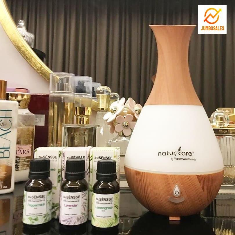 Tupperware truSENSSE Aromatherapy Essential Oil- Diffuser Set
