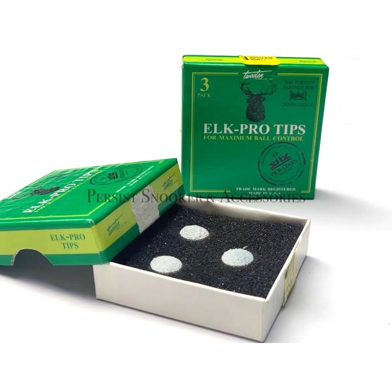 Original Peradon Elk Pro Snooker Cue Tips