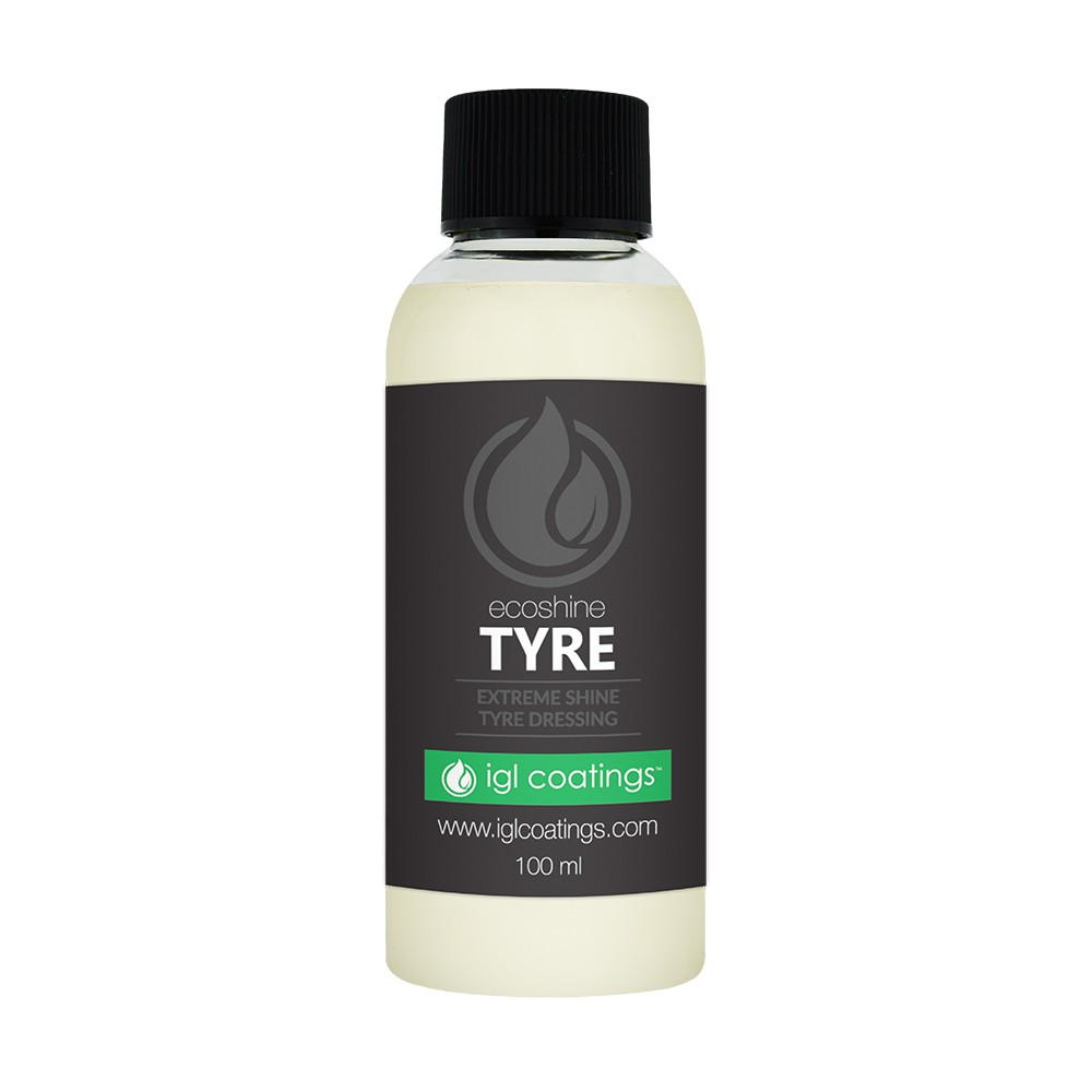 IGL Coatings Ecoshine Tyre Car Rubber Tire Protection Dressing Conditioner (100ml)