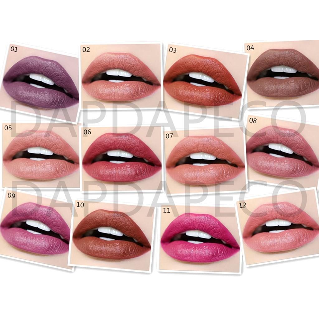 Lipstick Lip Beauty Makeup Moisturizing Velvet Air Cushion Lipstick Matte Frosted Bite Lip Gloss Long Lasting Batom Baby Lips Gogo Tales 100% Original