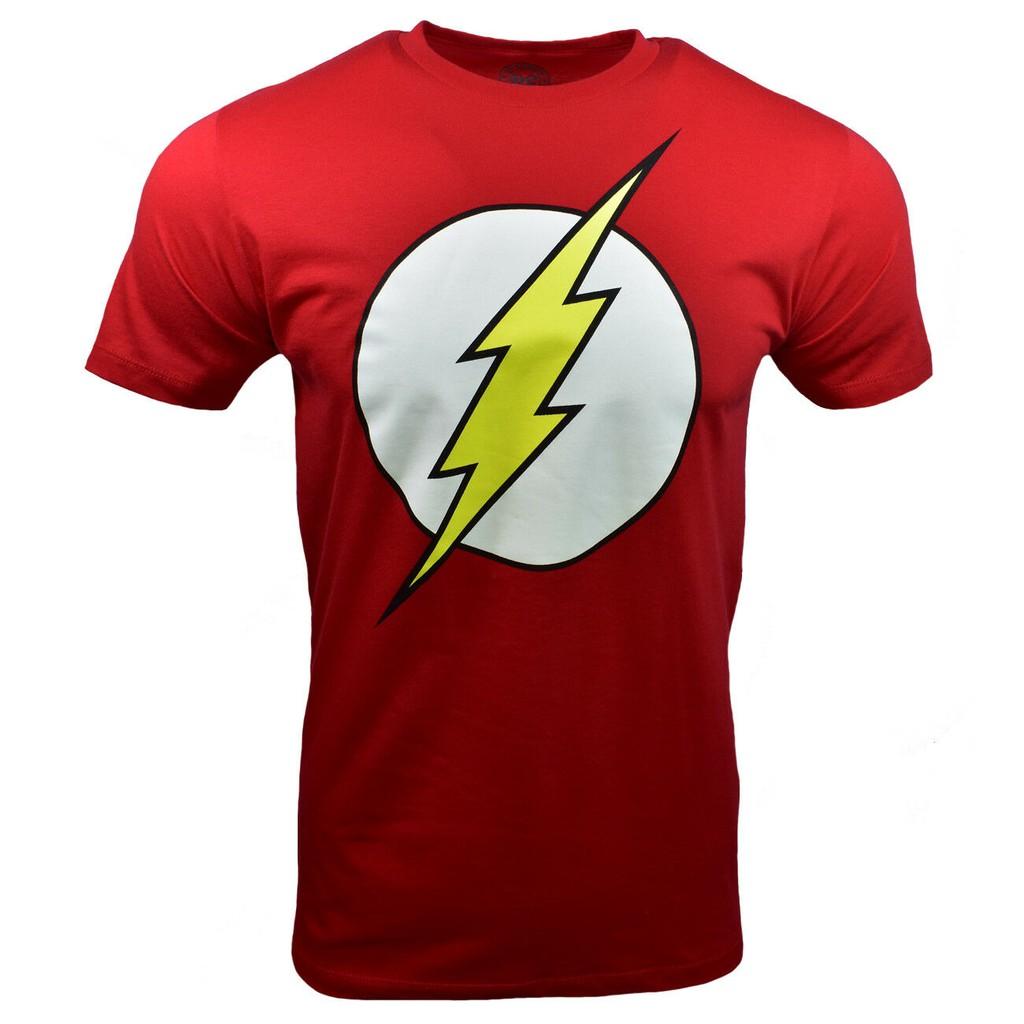 DC Comics Flash Line Logo T-Shirt Uomo