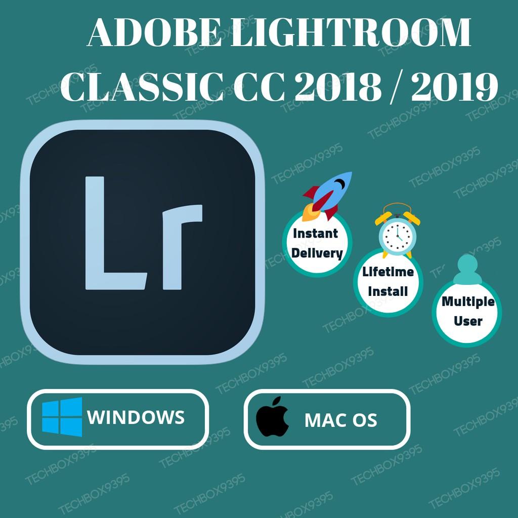 Adobe Lightroom classic cc 7 5 CC 2018 / CC 2019