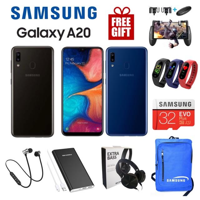 Samsung Galaxy A20 [3GB RAM 32GB] 🎁 Original Samsung Malaysia