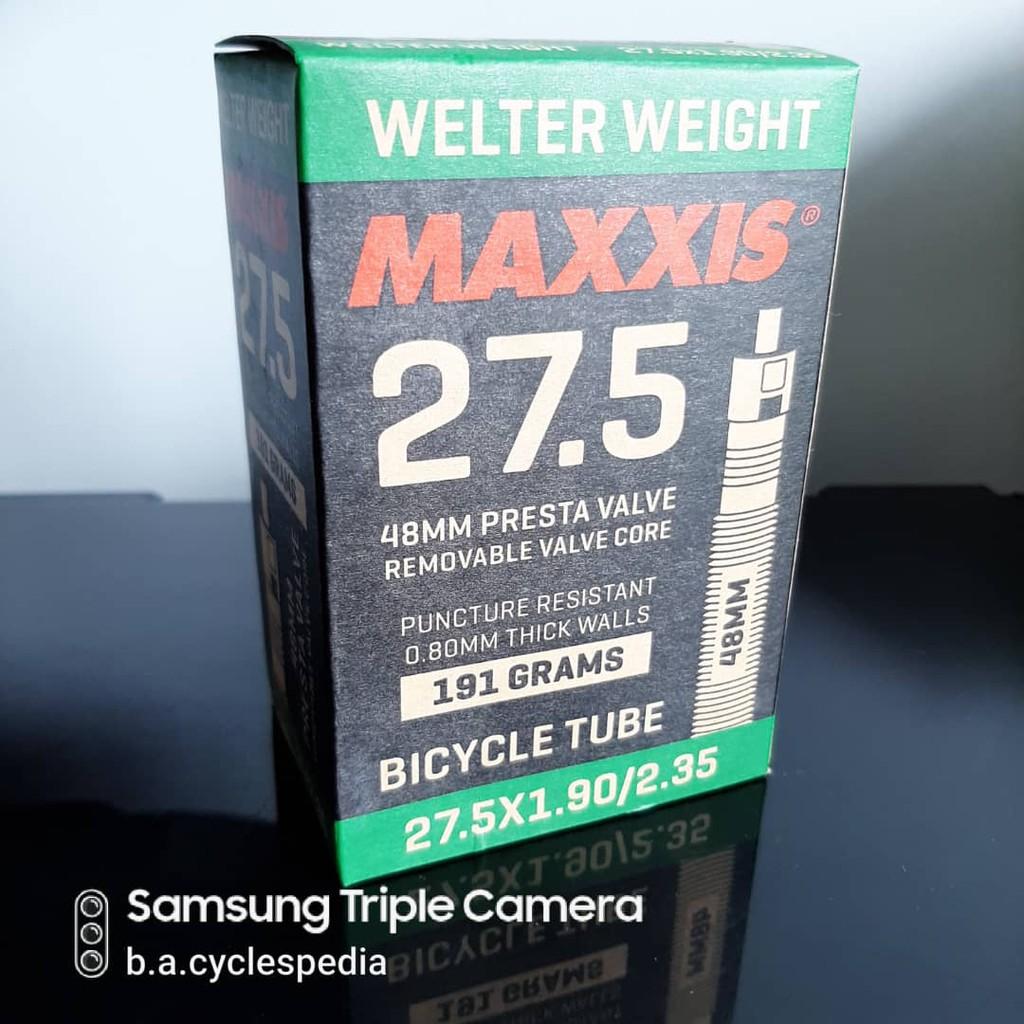 Welterweight Tube 27.5 x 1.90//2.35 Presta Maxxis