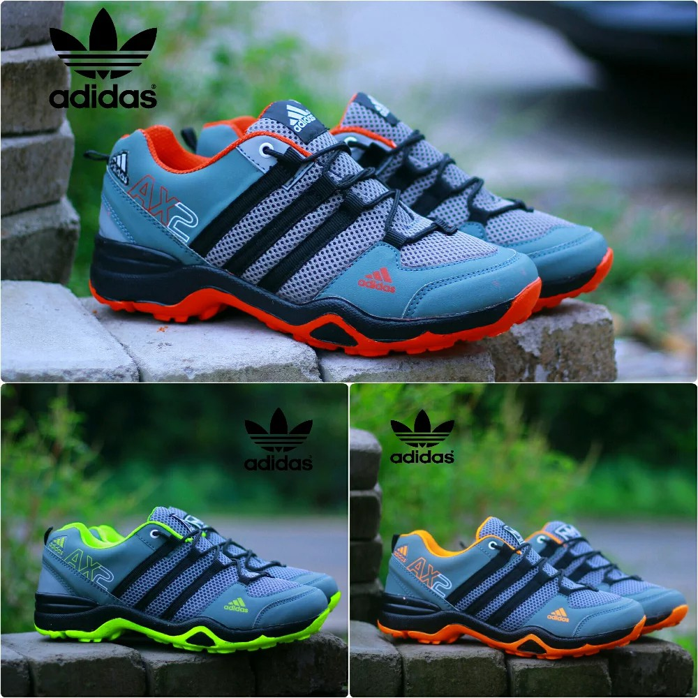 ADIDAS AX2 SHOES COMBINATION STRIP / RUNNING SHOES ...