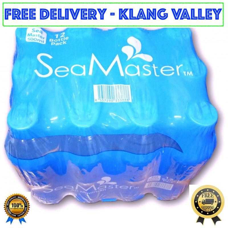 "[FREE DELIVERY] SEAMASTER ""500ml"" DRINKING WATER REVERSE OSMOSIS RO (70 - 210 Ctns)  - KL/SELANGOR/PUTRAJAYA/CYBERJAYA"