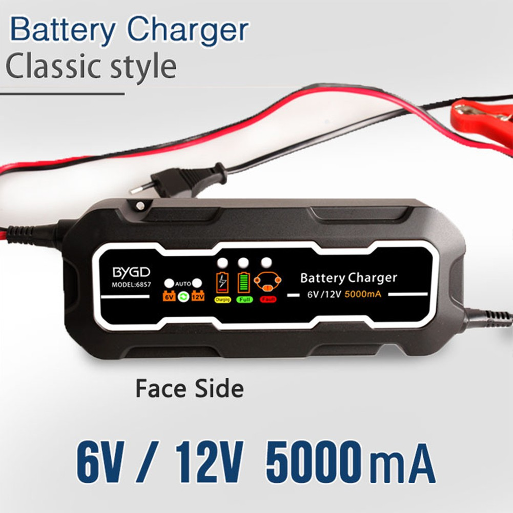 Willkey 12v Motorcycle Motorbike Battery Charger Automatic Smart Desulphation Progress Monitor Trickle Shopee Malaysia