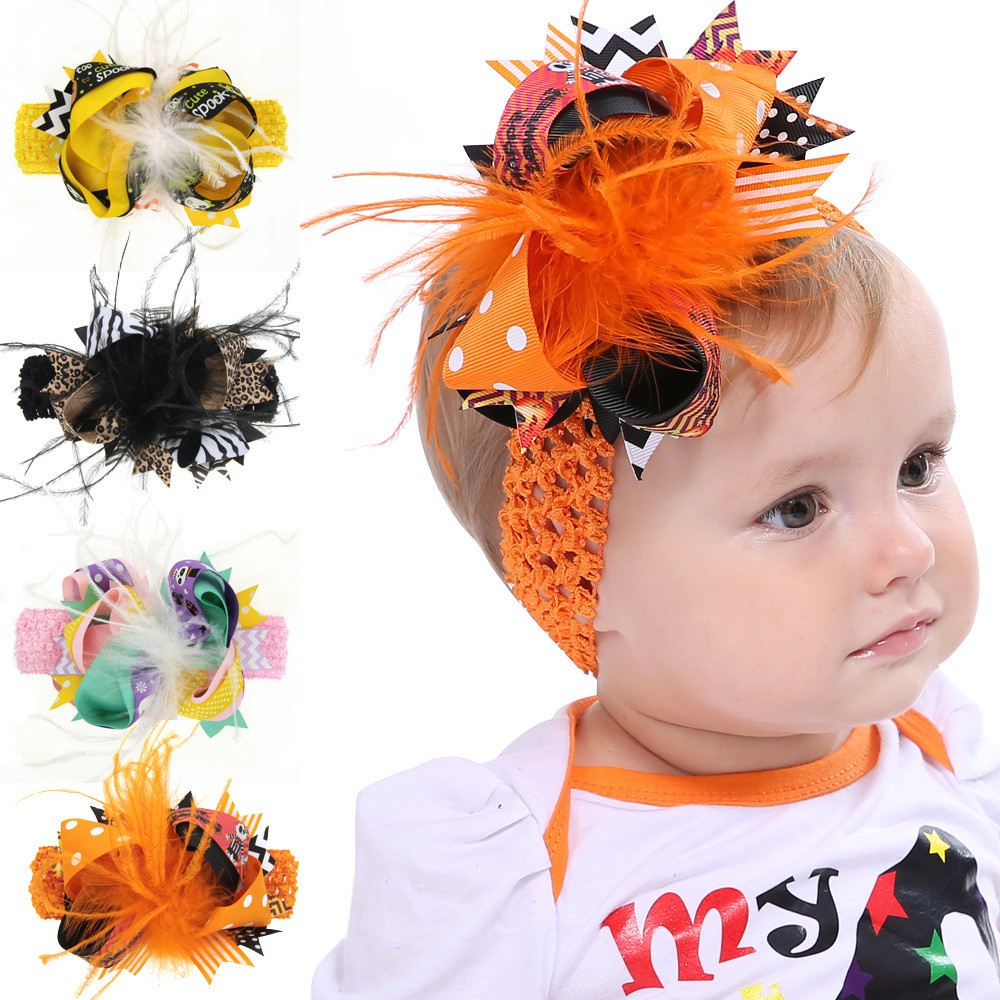 1Pc Colorful Swallowtail Bow Hair Clips Girls Child Snap Hairpin Baby Headwear