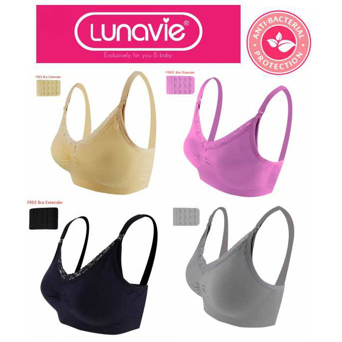 4ea3676e4 Lunavie Sheer Comfort Nursing Bra Size(34 36)