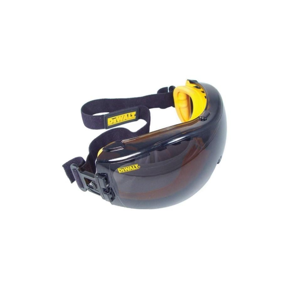 a3d10900df5 DEWALT DPG82-11 Concealer Clear Anti-Fog Dual Mold Safety Goggle ...
