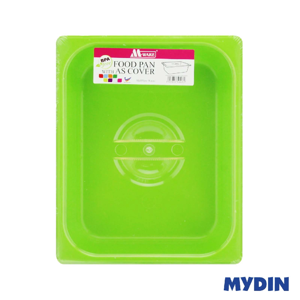 M-Ware 1/2 Size PP Food Pan 70mm With Cover