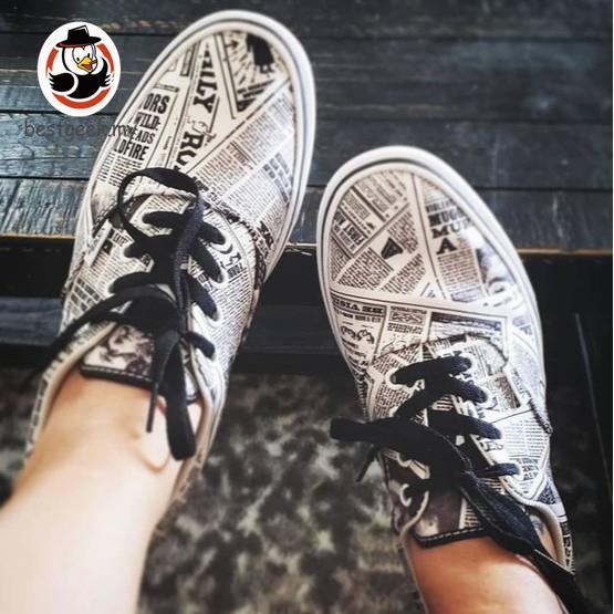 Vans x HARRY POTTER™ Daily Prophet Comfycush Era Shoes