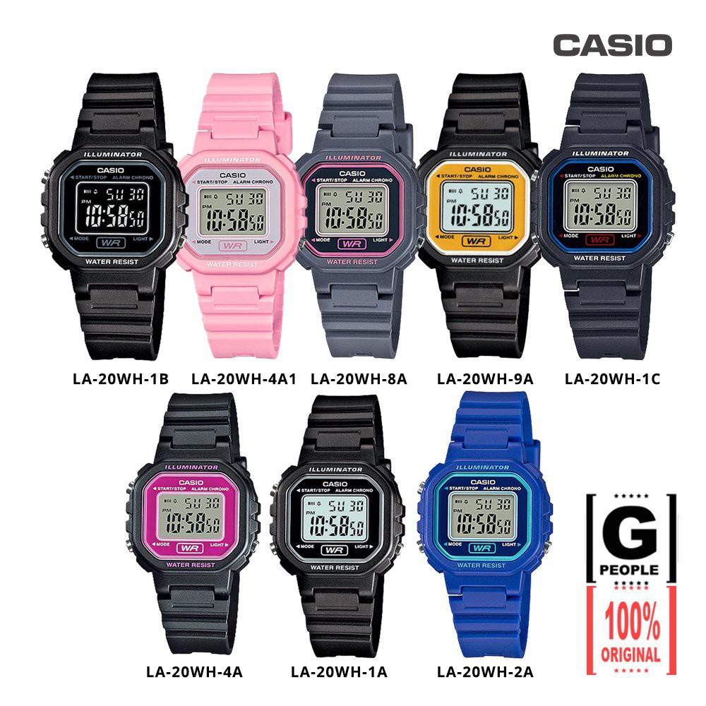 2 Years Warranty Casio Original La 20wh Digital Kids Watch Jam Tangan Wanita Aw 48he 1avdf Shopee Malaysia