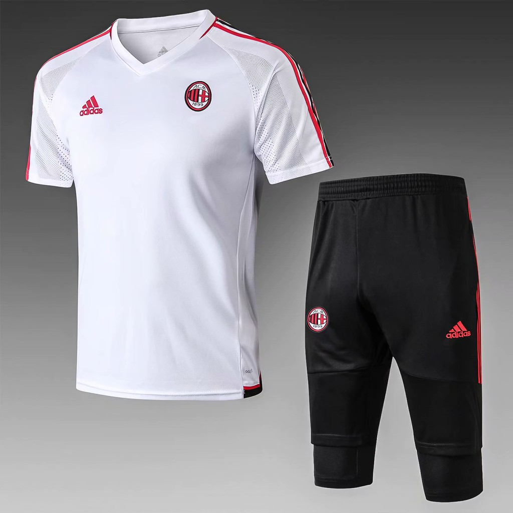 0098374d9 2017-18 AC Milan Red Football Training Suit | Shopee Malaysia