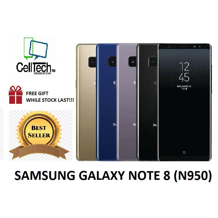 SAMSUNG Galaxy Note 8 (N950) [6GB RAM + 64GB ROM] LIKE NEW