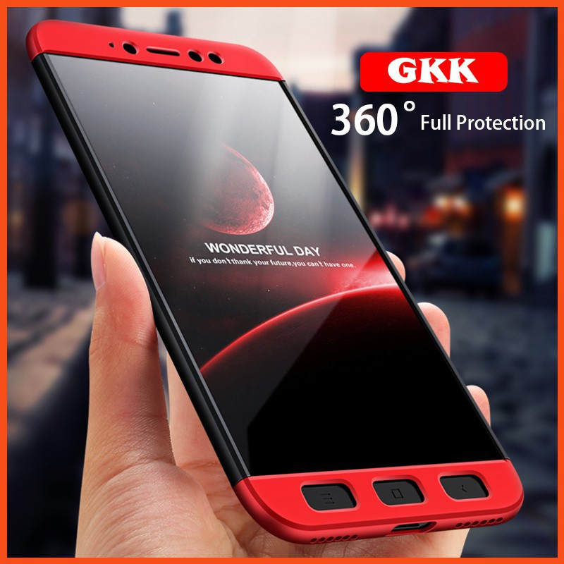 huge selection of 439f8 a3435 GKK Xiaomi Redmi Note 5A Full Cover Armor Baby Skin Hard Case