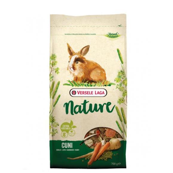 VERSELE-LAGA Cuni Nature อาหารเม็ดกระต่ายโต อายุ 6 เดือนขึ้นไป ขนาด