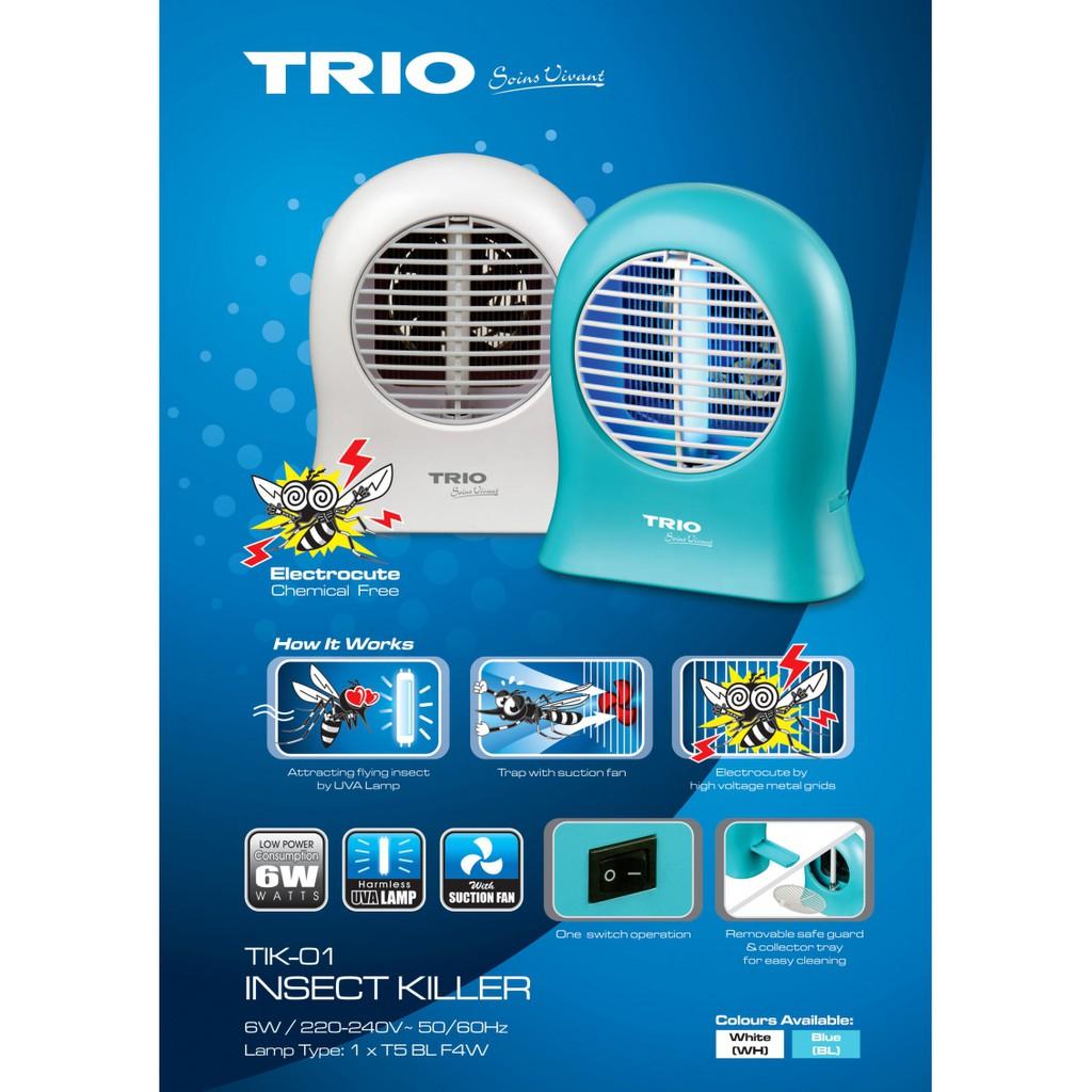 TRIO TIK-01(WH)/(BL) INSECT KILLER