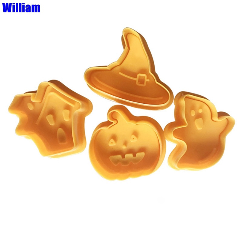 Set of four Halloween cookie and fondant cutter US SELLER!!