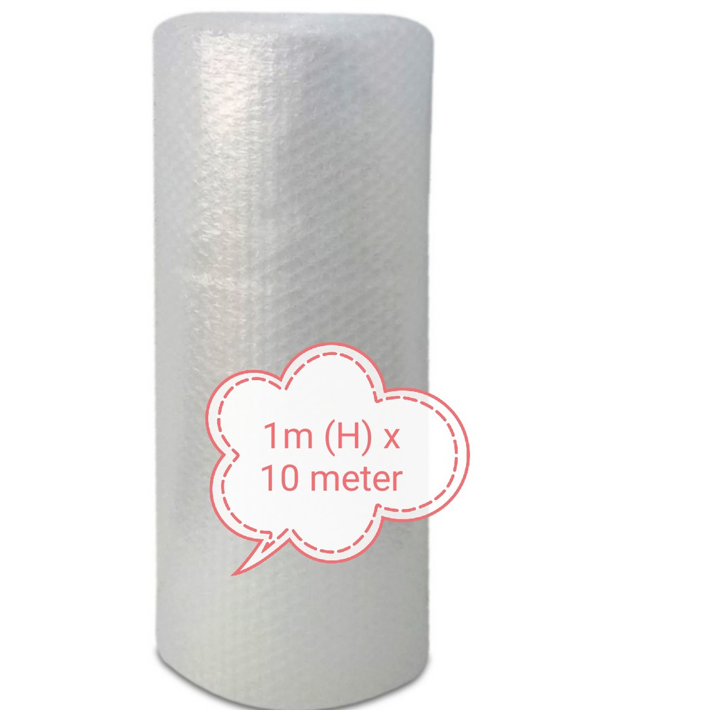 (Ready Stock) Bubble Wrap 1m (H) x 10 meter ( 100cm x 10 meter )