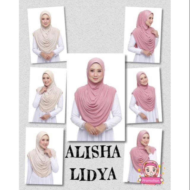 TUDUNG SARUNG : ALISHA LIDYA (FREE SAIZ)