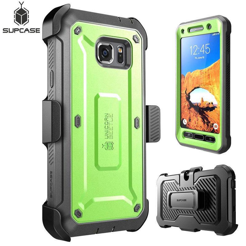 the latest e0a9b 7fd28 Samsung Galaxy S7 Active Case SUPCASE & Screen Protector and Belt Clip  Holster