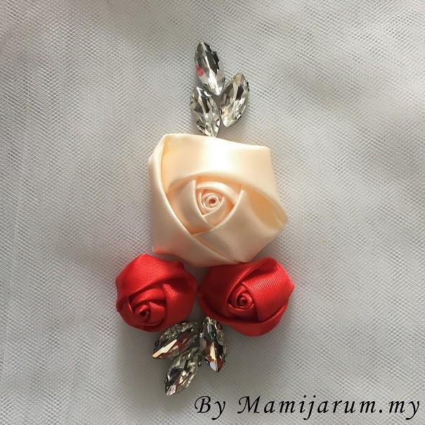 BeeBlinG Iron On Chunky Beads Mix Bunga 3D (D07) RM 4.50 / PCS
